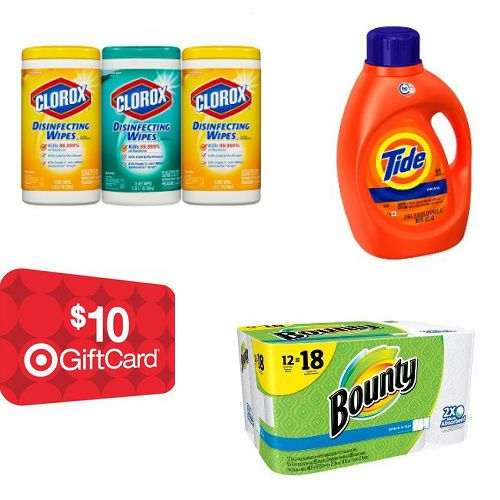 Why not get a Free $10 Target gift card if you need cleaning supplies anyway?!