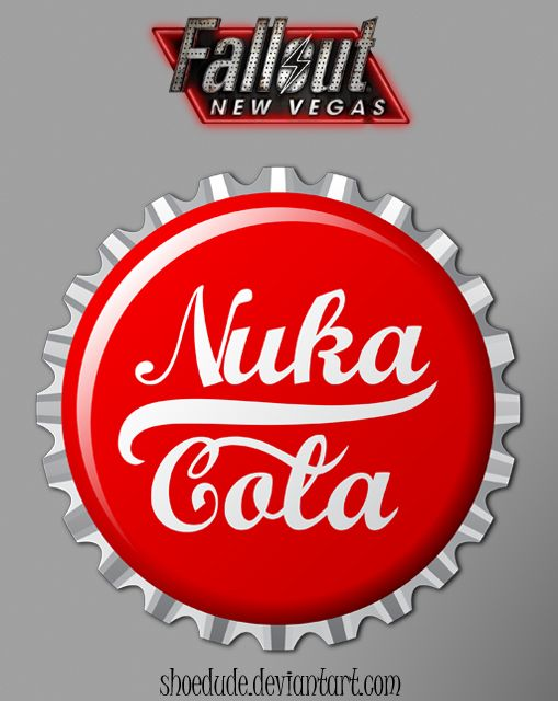 Nuka Cola Bottle Cap by Shoedude