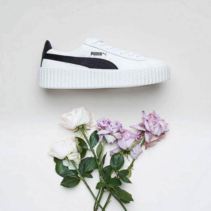 Sneakers women - Puma Creeper Fenty by Rihanna white