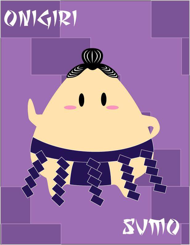 Onigiri Sumo by runninwild04
