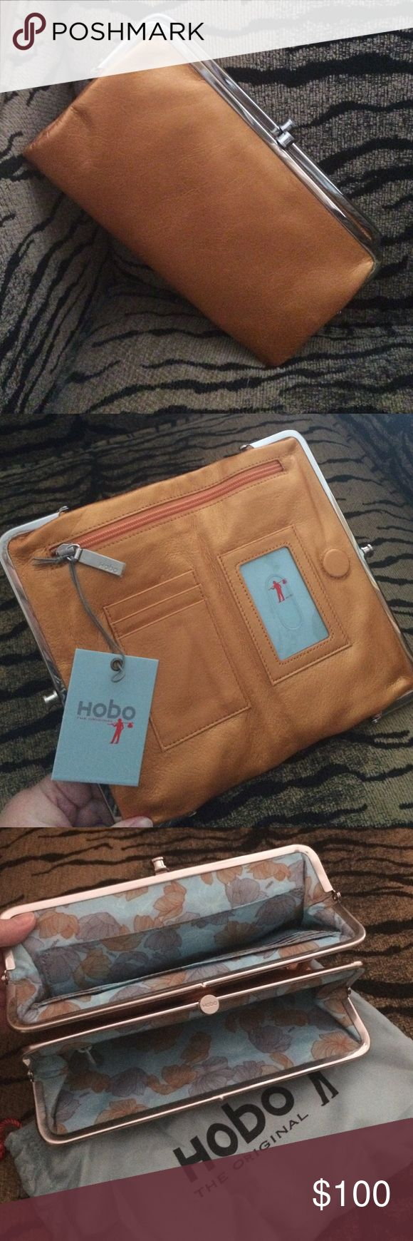 Hobo Lauren Wallet in Radiance! Price is firm! Hobo Lauren Wallet in Radiance! Price is firm! This is New With Tags and comes with dust bag as well!! 100% Genuine Leather. HOBO Bags Wallets