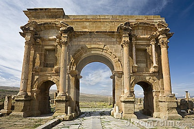 The Arch of Trajan by Witr,