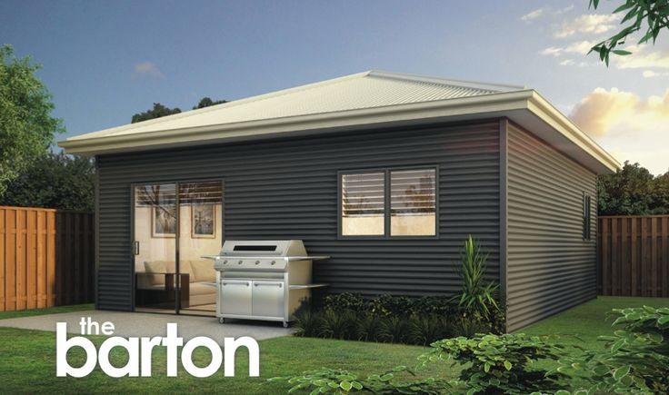 One and two bedroom designs in durable steel.
