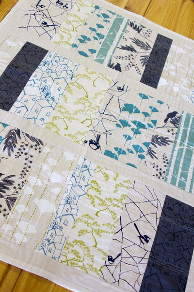 Ink & Spindle quilt
