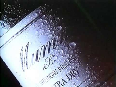 Mumm Sekt Werbung 1989 - YouTube