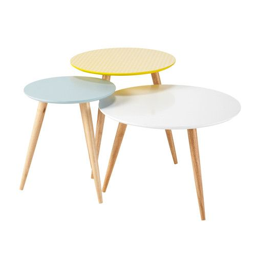 3 tables gigognes rondes vintage maisons du monde 100 euros http://www.maisonsdumonde.com/FR/fr/produits/fiche/3-tables-gigognes-rondes-vintage-fjord-138842.htm#description_product
