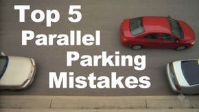 Ease the pressure of the parallel park. Here are the top 5 mistakes to avoid when parallel parking better. http://youngdriversofcanada.wordpress.com/2013/06/04/top-5-parallel-parking-mistakes/