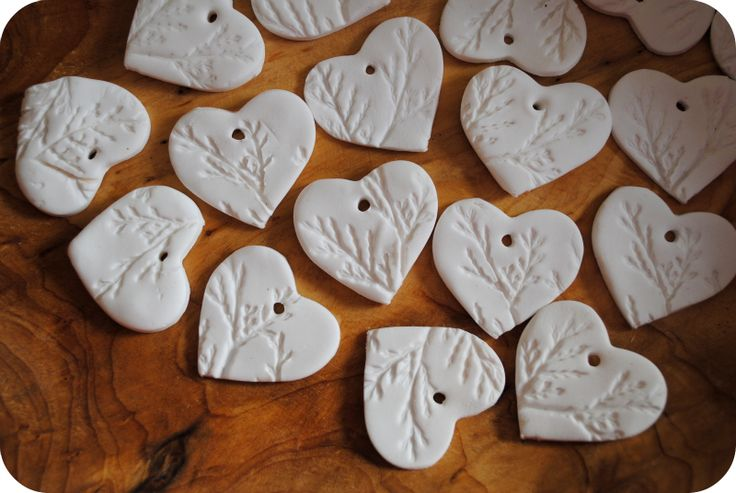 Playdough/clay ornaments