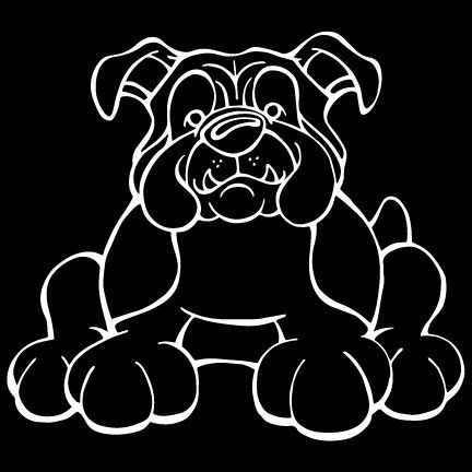 Do you love your Bulldog? Then a dog decal from Decal Dogs is what you need to celebrate your best friend. Every Dog Has Its Decal! The decal measures 5 in. x 5 in. and can be applied to most smooth s