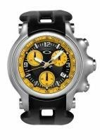 OAKLEY HOLESHOT WATCH YELLOW DIAL/ BLACK RUBBER STRAP