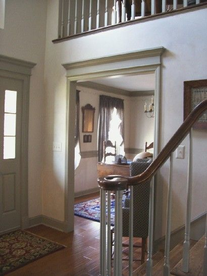17 best ideas about center hall colonial on pinterest for Colonial foyer ideas