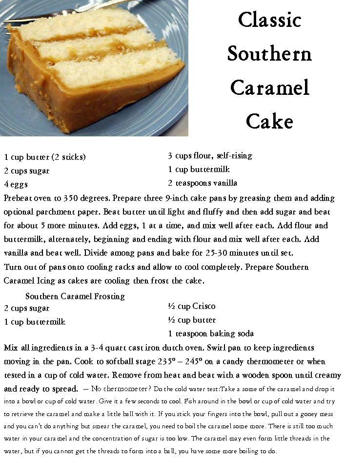 Classic Southern Caramel Cake Southern Caramel Cake