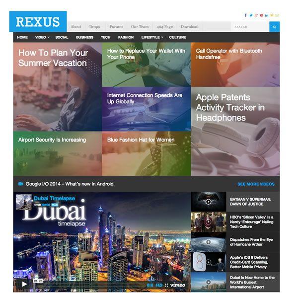 Rexus szablon Wordpress od Theme-Junkie - http://trejka.pl/rexus-szablon-wordpress-od-theme-junkie/