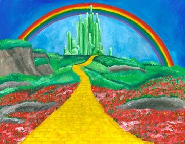 wizard of oz homemade decorations | Wizard_of_Oz_painting_low_res[1]