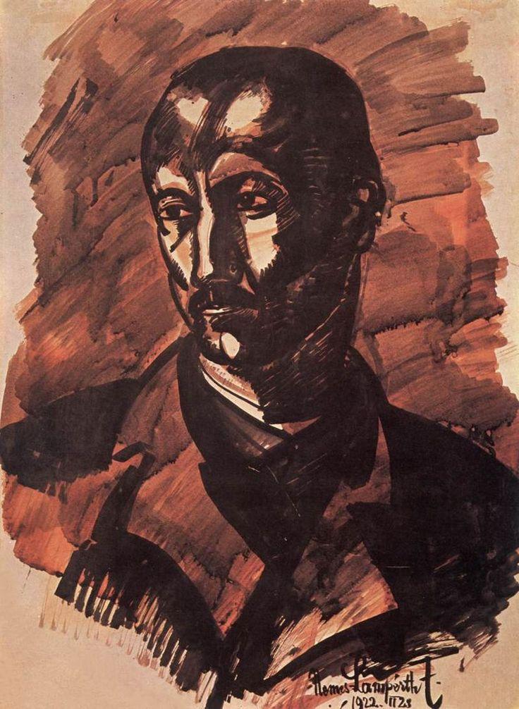 Nemes Lampérth József painter Portrait of a Man 1922 - Nemes-Lampérth József – Wikipédia