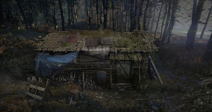 ArtStation - hunter house, Artur Chochowski