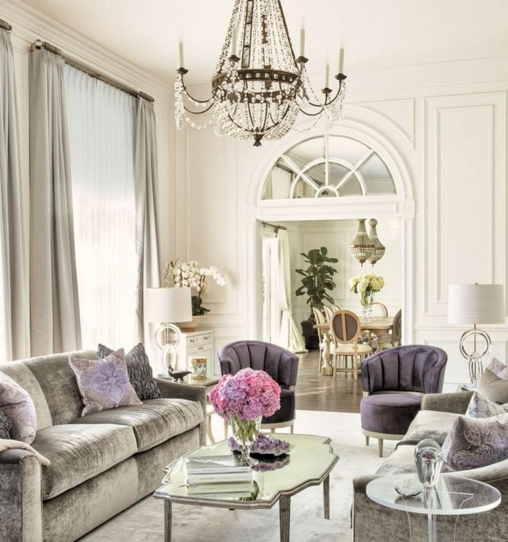 1312 best living room ideas 2016 images on pinterest Gray and lavender living room