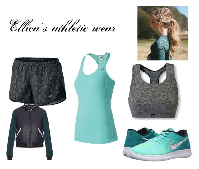"""""""Ellica's athletic wear"""" by aspringer-1 on Polyvore featuring NIKE, Zensah, New Balance and rag & bone"""