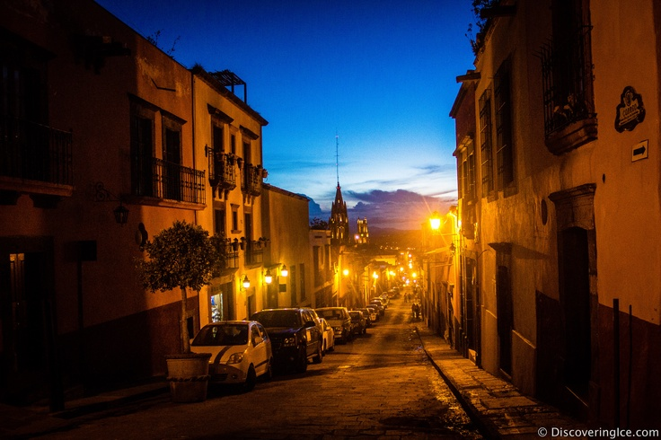 San Miguel de Allende at night  #travel #photography #Mexico