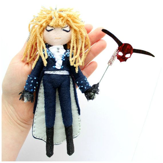 Jareth the Goblin King Labyrinth doll. The by WhisperOfThePipit