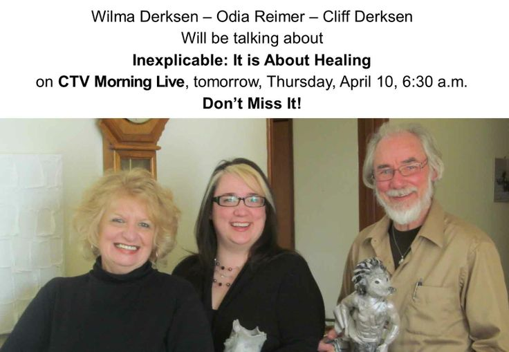 Inexplicable: It is About Healing on CTV Morning Live April 10