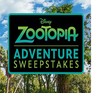 Need Disney Reward Codes? Here is the Zootopia Adventure Sweepstakes information you need to get some free Disney Movie Reward code points.