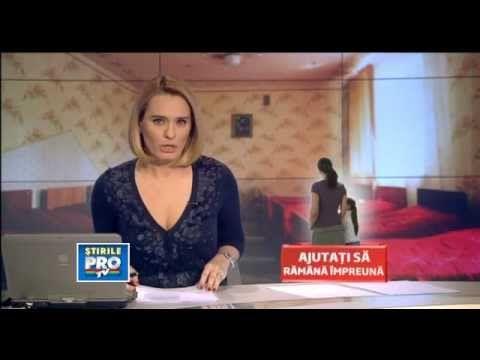 Copii salvati de fundatia HHC Romania - stire ProTV