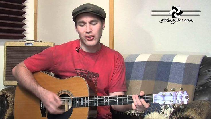 Hallelujah - Leonard Cohen - Easy Acoustic Beginner Guitar Lesson (BS-80...