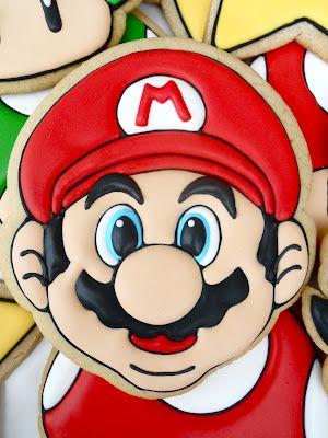 Oh Sugar Events  - Mario Bros. Cookies http://ohsugareventplanning.blogspot.com/2012/06/mario-bros-cookies.html