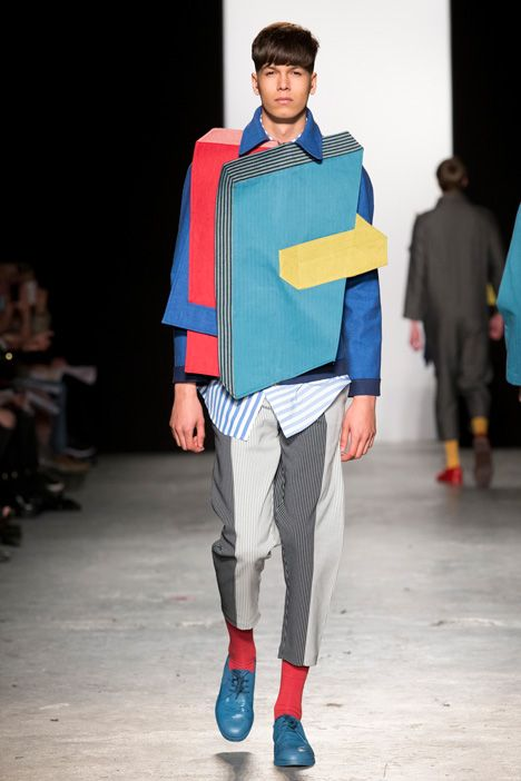 Dezeen's picks of Westminster fashion design graduates 2015