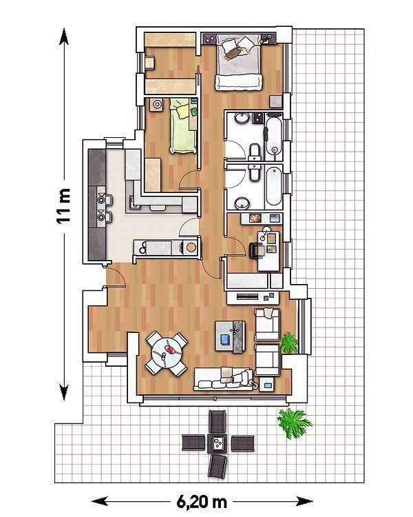 M s de 25 ideas incre bles sobre planos de planta circular for Viviendas sobre terrazas
