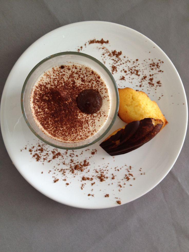 Mousse mascarpone au café