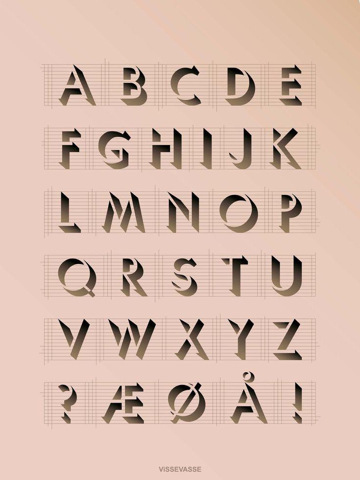 ABC plakat vissevasse 30x50