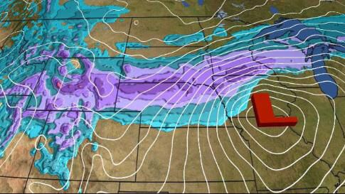 Incoming Snowstorm Quid: Large Snow Totals Ahead