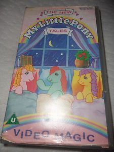 The New My Little Pony Tales VHS