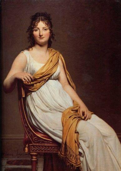 Мягкие муслиновые платья 1800-х гг., облегающие тело, сделали излишними любые предметы нижнего белья, которые могли бы испортить естественную линию. Многие женщины с хорошими фигурами отказались от корсетов. Менее удачливые все же нуждались в каких-либо подтягивающих средствах под платьями.
