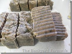 make homemade soap in the crockpot with natural ingredients like tea, coffee grounds, coconut oil and distilled water.