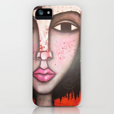 Peaches+iPhone+&+iPod+Case+by+Sandra+Mucciardi+-+$35.00