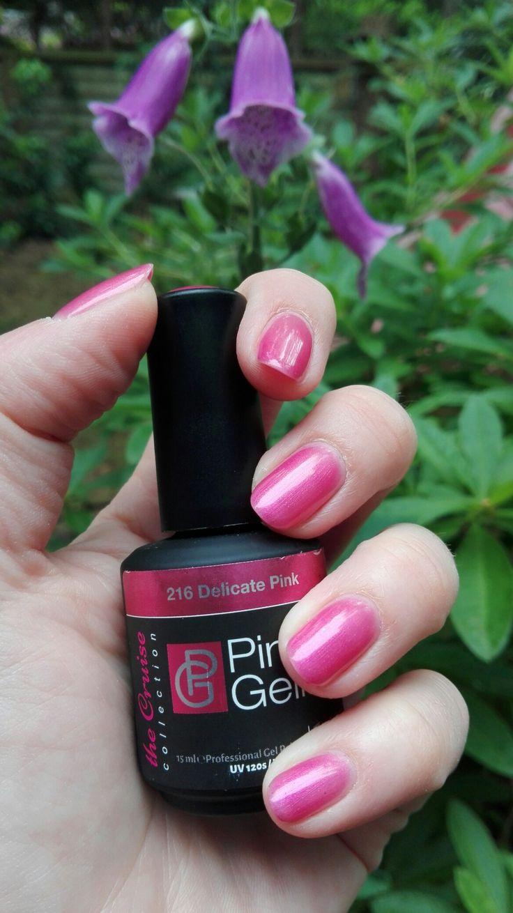 Pink gellac Delicate pink