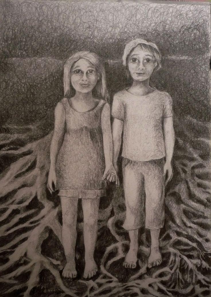 ¨La Verdad ¨ Lápiz s/papel 20 x 30 cm