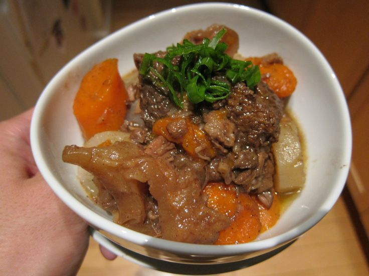 images of chinese beef stew recipies | Chinese Beef Tendon Stew.