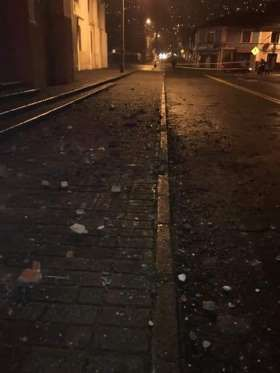 Earthquake rocks Ecuador - Santiago Armas/Newscom