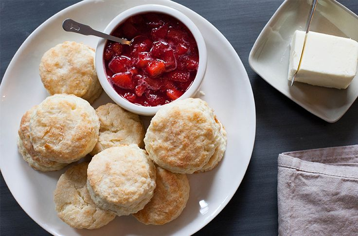 Biscuits with Strawberry Jam | Blue Apron