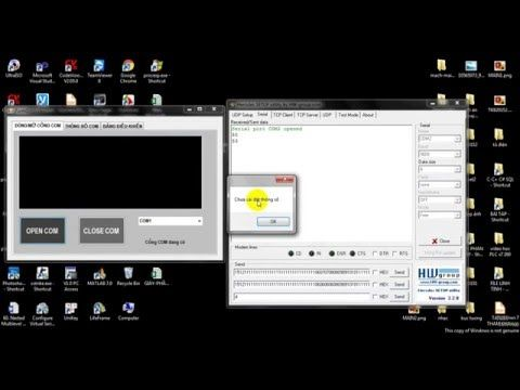 Serial Port -8051  connect to PC [Demo] - YouTube