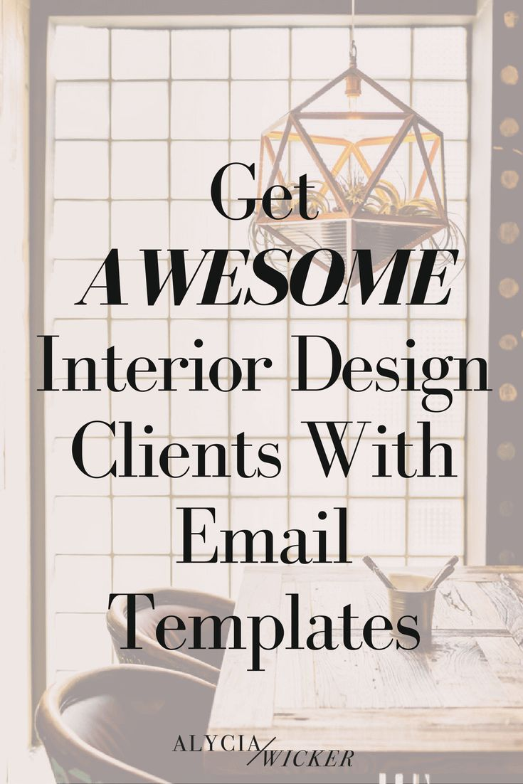 Delightful Interior Design Email Templates Help You Get More Business