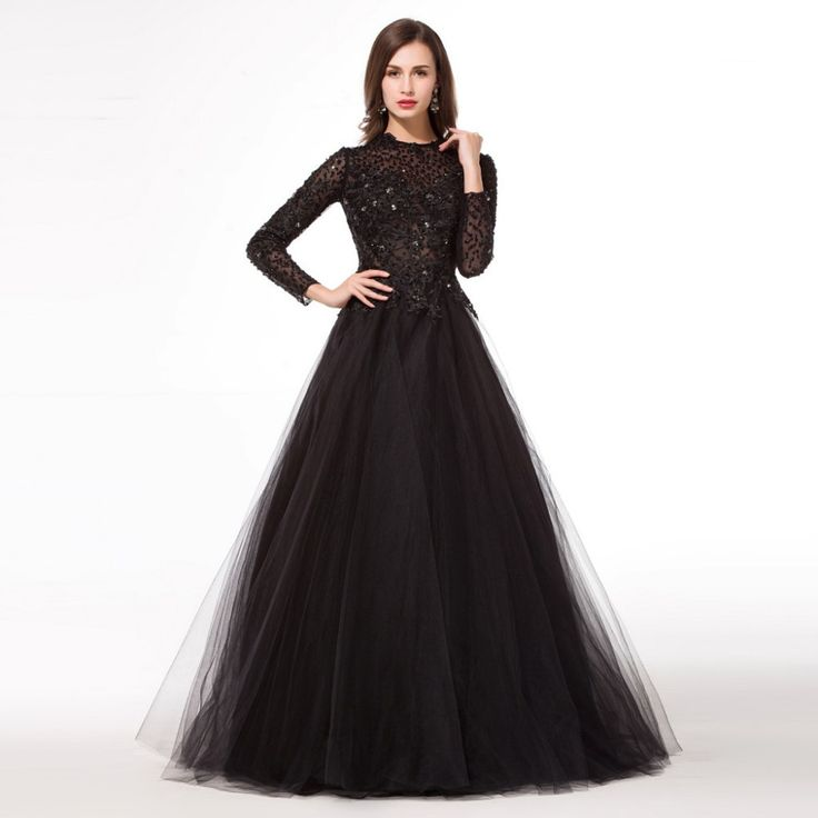 78 Best images about Long Evening Dress on Pinterest  Black prom ...
