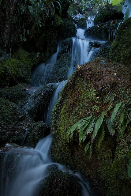 Waterfall - Shirttail Stream by Corinthian the Blessed, via Flickr