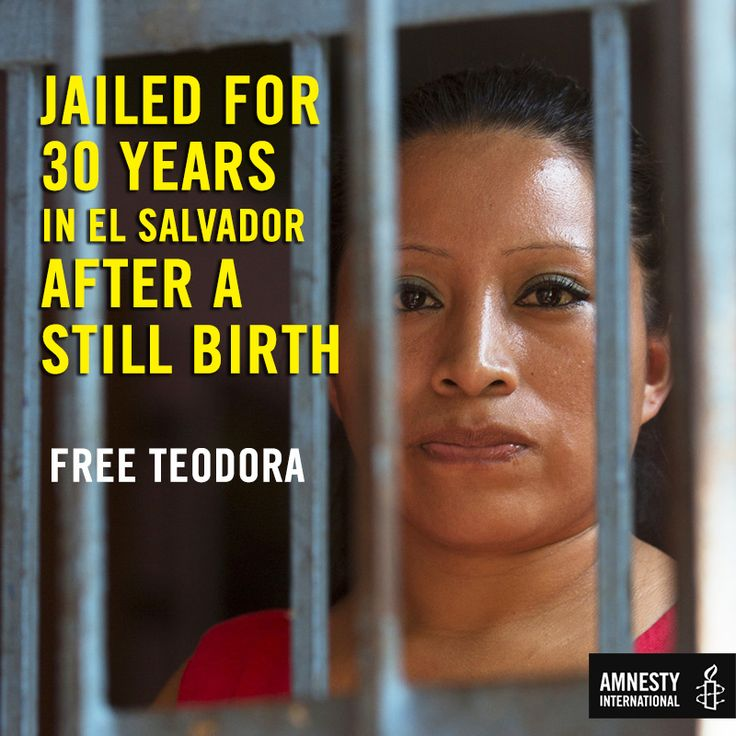 ACT NOW on #IWD2016 because Women are being jailed for decades after suffering still-births