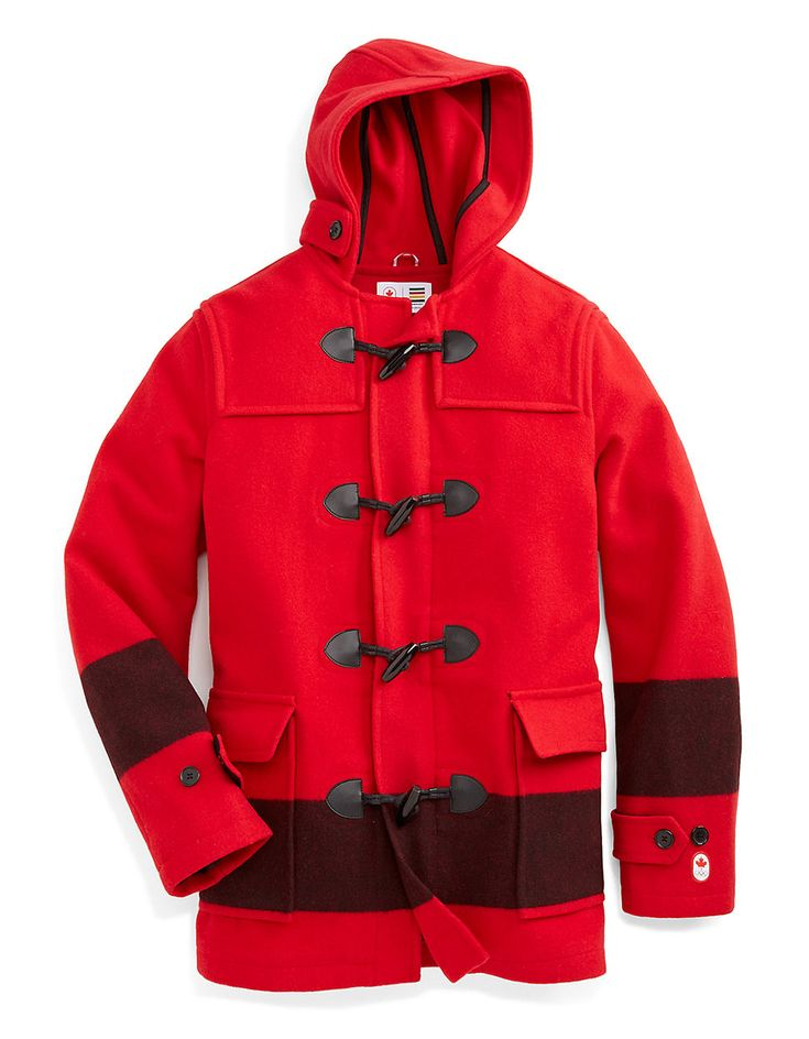 Sochi 2014 Canadian Olympic Team Collection - Wool Duffle Coat ...