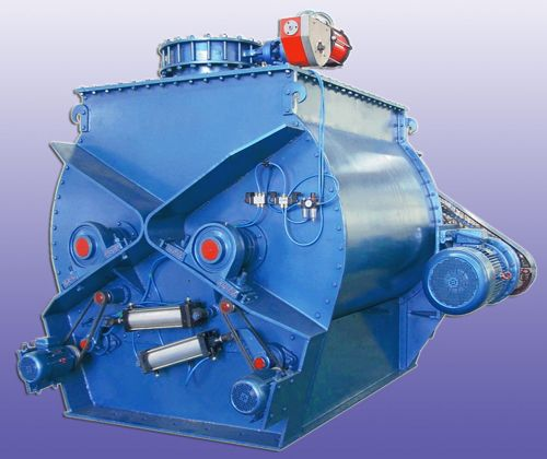 Paddle Mixer with Pneumatic Loading Port